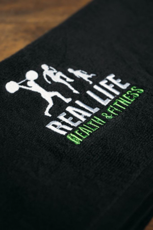 Real Life Gym Towel